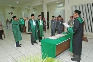 Pelantikan Ketua Pengadilan Agama Kuala Kapuas Bapak H. Ahmad Farhat, S.Ag., SH., M.HI