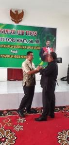 Pengantar Alih Tugas Wakil Ketua Pengadilan Negeri Kapuas Bapak Putu Endru Sonata, SH., MH
