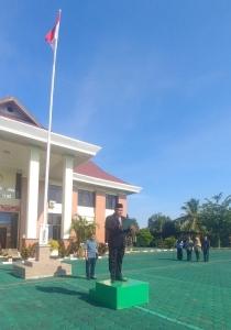 Upacara Hari Pahlawan ke 74 di Pengadila Agama Kuala Kapuas