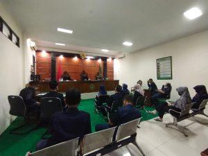 Rapat Hakim dan Kepaniteraan Pengadilan Agama Kuala Kapuas