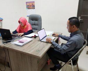 Hawasbid Pengadilan Agama Kuala Kapuas Melaksanakan Pengawasan Reguler Triwulan II Tahun 2020
