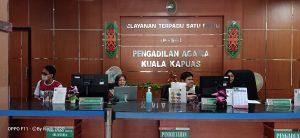 Demi Menuju WBK Aparatur Pengadilan Agama Kuala Kapuas Lembur Di Hari Libur