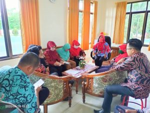 Ini Yang Dibahas Pada Rapat Internal Bagian Kesekretariatan Pengadilan Agama Kuala Kapuas